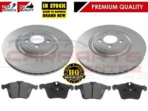 FOR JAGUAR XF 2009- FRONT 355mm VENTED BRAKE DISCS AND PADS SPORTS BRAKING