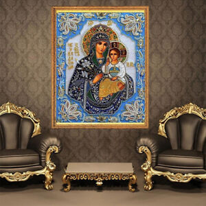 5D Jesus Diamant Diamond Painting DIY Kreuzstich Stickerei Malerei Stickpackung