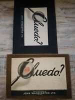 CLUEDO BOARD GAME BY JOHN WADDINGTON VINTAGE  COMPLETE FIRST EDITION ?