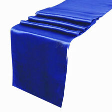 "Satin Table Runner 10 pcs 12""X108"" Wedding venue party decoration - Royal Blue"