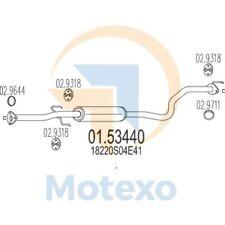 MTS 01.53440 Exhaust HONDA Civic 1.4i 16V 90bhp 11/95 - 02/01
