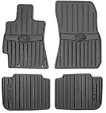 2010 - 2014 Subaru Legacy / Outback All weather Rubber floor mats Black OEM