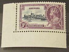 Grenada George V 1935 Silver Jubilee 1/-. Superb MNH corner marginal.