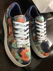 GBG by Guess Womens Rigster 3 Tie Dye Sneakers 8M NWT