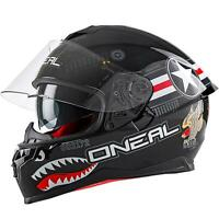 O'Neal Challenger Wingman Motorrad Helm Pinlock Sonnenvisier Straße Integral