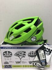 IXS Kronos Evo MTB Helmet, Unisex, Green (ML 58-62 cm)