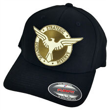 Captain America/Agent Carter SSR Super Patch Flexfit Black L-XL Size Cap Hat