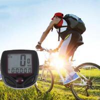 MTB Bike Bicycle Waterproof Digital LCD Display Speedometer Odometer Stopwatch