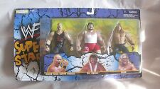 WWF Super Stars Steve Austin Dr. Death & Edge Figures From Jakks 1998   NEW t852