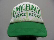 EMERALD BIKE RIDE - 2017 - ONE SIZE ADJUSTABLE SNAPBACK BALL CAP HAT!