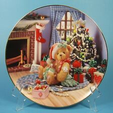A Treasury of Cherished Teddies Collector Plate Happy Holidays Friend 1994 Usa