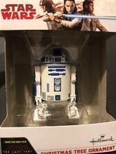 R2D2 Droid Hallmark Ornament Star Wars Christmas Collector Piece (Brand New)