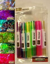 M00408 MOREZMORE Angelina Fantasy Fusible Film 6 Color Sample Pack Wings T20