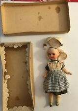 "Rare Antique Miniature Doll in Original Box Armand Marseilles approx 6"" tall"