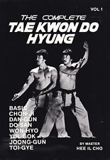 Hee Il Cho COMPLETE TAE KWON DO HYUNG vol 1 tkd