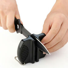 Kitchen Knife Sharpener Sharpening Tool Ceramic Rod Tungsten Steel~