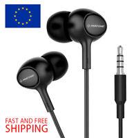HD Clear Super Bass Stereo Ergonomic In-ear Earphones 3.5mm Jack Wired Headphone
