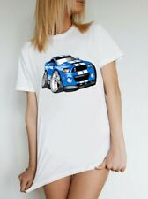 T-shirt Ford Mustang Shelby 500 , Muscle cars. AS Colour shirt car enthusiast