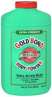 Gold Bond Body Powder Medicated Extra Strength 10 oz (Pack of 4)