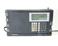 Grundig 500 Multi Band Satellite Radio Receiver, Portable Radio
