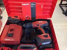 Hilti Sfh-18A 18V Hammer Drill w/ 2 Batteries + Hilti Case