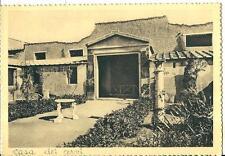 cm 255 1952 ERCOLANO (Napoli) Casa dei Cervi - Giardino - Ed.Berretta Terni