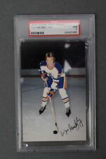 Edmonton Oilers 1979-80 Postcard Collection of 23 with PSA 7 Gretzky RC!