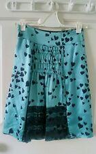 "Alannah Hill ""Tickle my Pickle"" skirt 100%silk  size 6"