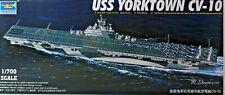 Flugzeugträger CV-10 Yorktown,US Navy,Carrier,WW II,Trumpeter,05729, 1:700,NEU