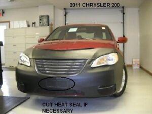 Lebra Front Mask Cover Bra Fits 2011-2014 Chrysler 200 4 DR. Sedan & Convertible