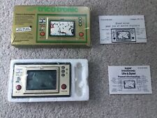 NINTENDO GAME & WATCH WIDE SCREEN POPEYE WITH BOX CASE INSTRUNCTIONS