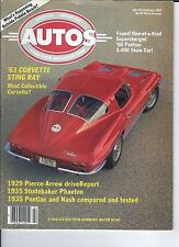SPECIAL INTEREST AUTO - #97 / 1963 Corvette Sting Ray / 1929 Pierce-Arrow + Many