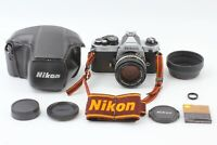 [Near Mint] Nikon New FM2 FM2N SLR + Ai-s 50mm f1.4 Lens + MF-16 + CF-27D Japan