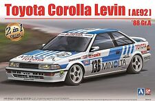 Aoshima 98240 1/24 Toyota COROLLA LEVIN AE92 Gr.A '88 MINOLTA 2in1-Decal Limited