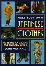 Make Your Own Japanese Clothes Patterns & Ideas For Modern Wear  PB Book