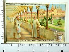 1880's Famous Cloisters Scenes Lovely Liebig Victorian 6 Trade Card Set K43