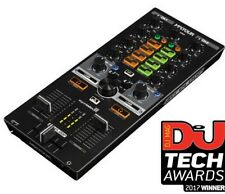 Reloop MixTour 2-Channel Portable DJ Mixer for Algoriddim Djay 2 App iOS Android