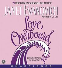 NEW Love Overboard CD by Janet Evanovich Compact Disc Book (English) Free Shippi