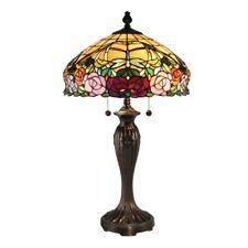 Dale Tiffany Zenia Rose Table Lamp, Fieldstone - TT15097