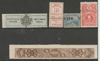 Mexico Cinderella mix Revenue fiscal collection stamp ml86 as seen