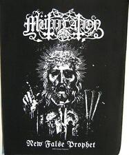 "Mutilation schiena ricamate/Back Patch # 1 ""NEW false profeta"""