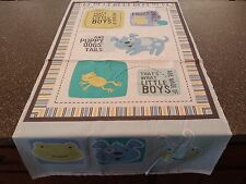 What Little Boys are Made Of Panel Bethany Shackelford QT Dog Snail Frog 23x43