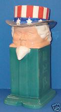 NIB Uncle Sam Pez Cookie Jar; L.E. 1200