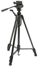 NUOVA NERA 1.48m MAX 1.25kg un treppiede fotocamera con effetto fluido 3 Way Pan/Tilt Head