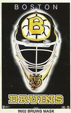 BOSTON BRUINS MASK Original N James Poster MINI Promo Piece 3x5