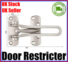 Door Safety Chain Lock Stainless Steel Color:Oak Wood