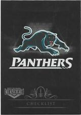 2018 NRL Elite Silver Special Parallel (SS101) CHECKLIST Panthers