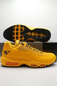 Nike Air Max 95 NYC Taxi City Pack Gold Black New York DH0143-700 Men's Sizes