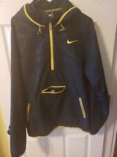 Nike Black Mamba Kobe Bryant Black Windbreaker Hoodie Sz - LG
