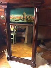 antique painted mirror